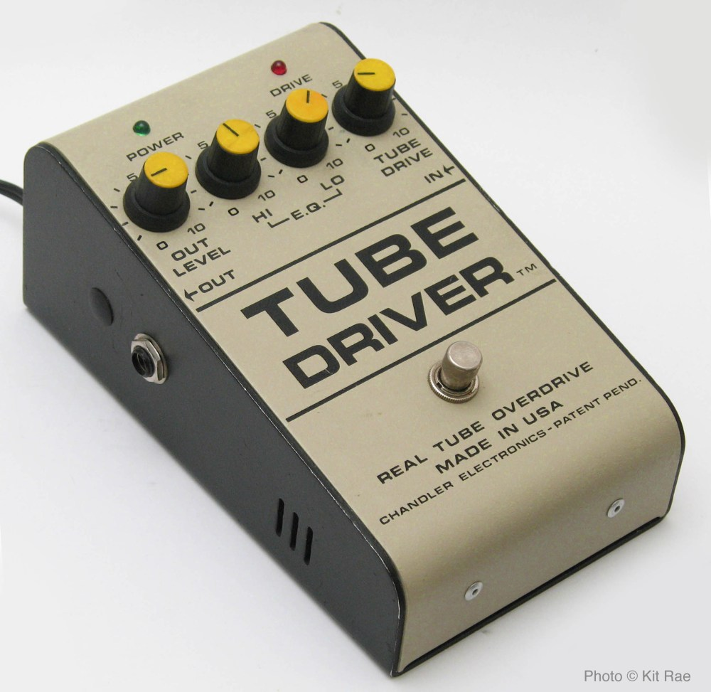 medium resolution of a rare original 1986 b k butler tube driver with tm after driver and no b k butler markings note the inout output jacks are on the sides rather than the