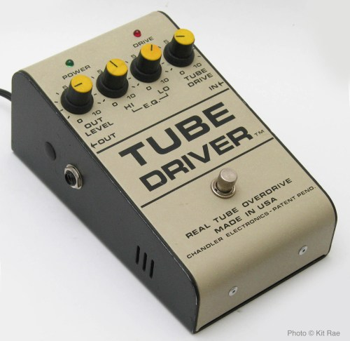 small resolution of a rare original 1986 b k butler tube driver with tm after driver and no b k butler markings note the inout output jacks are on the sides rather than the