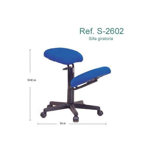 Silla ergonmica Ecopostural S2602