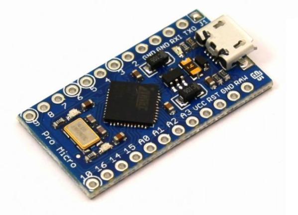 Scheda Pro Micro ATMEGA32U4 5V/16MHz Arduino Compatibile