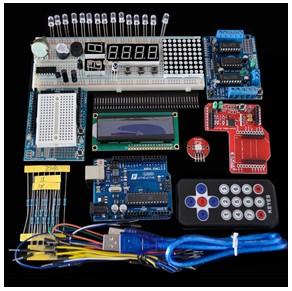 H015 UNO R3 + L293D Motore driver + wireless Modulo starter kit