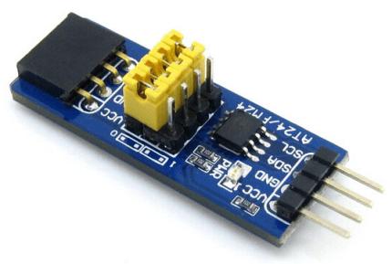 EEPROM Board AT24C04B Memory Modulo Storage Scheda di Sviluppo Kit I2C