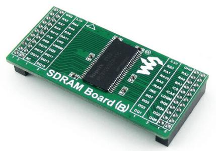 SDRAM Board (B) H57V1262GTR SDRAM Accessory Board Synchronous DRAM Memory Evaluation Development Modulo