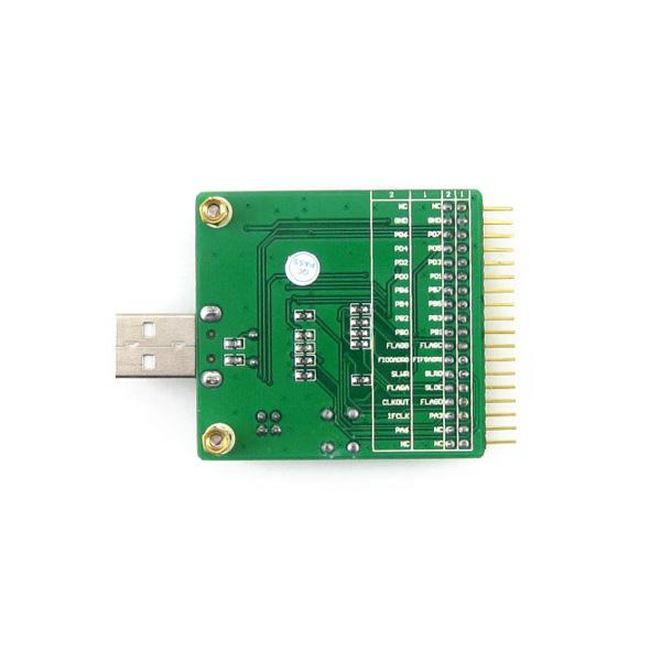 EZ-USB FX2LP CY7C68013A USB Scheda di sviluppo Modulo EEPROM Analizzatore logico