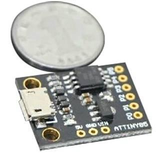 Scheda di sviluppo microcontrollore mini USB ATTINY85 per Arduino