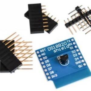 Modulo sensore di temperatura WeMos DS18B20 Modulo di misurazione della temperatura PER scheda di apprendimento D1 mini WIFI
