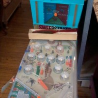 Vintage Plastic Cowboy Pinball Machine