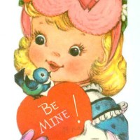 """Be Mine!"" Early Twitter-Bird Valentine"
