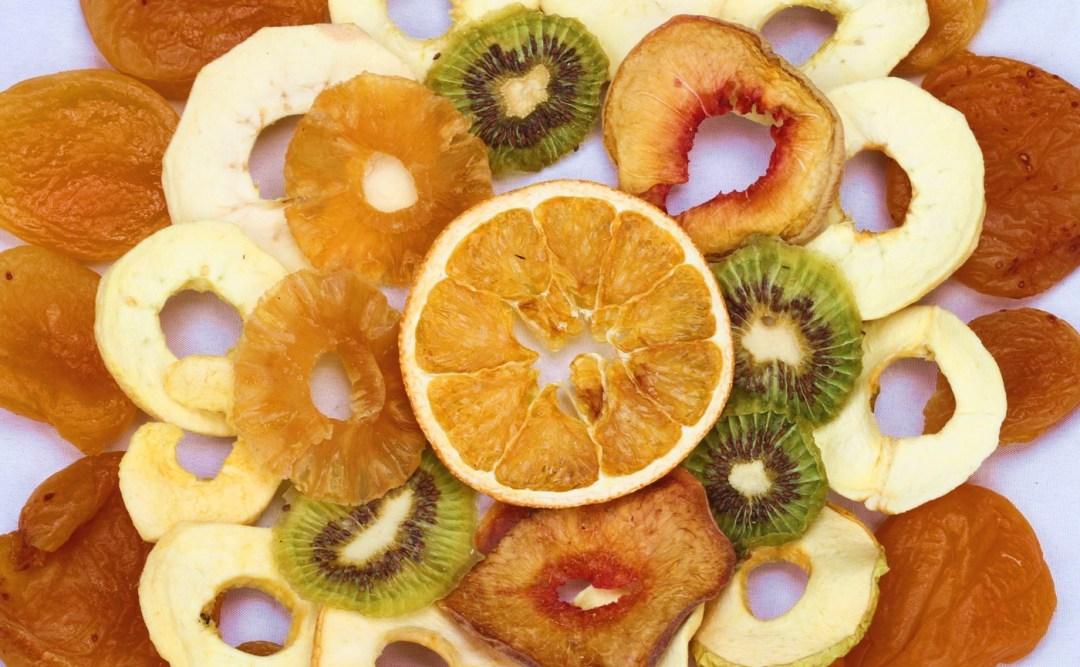 Fruits séchés dans le KSS