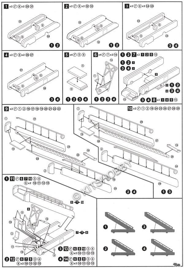 Eastern Express 1/144 Airport equipment set 3