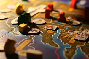 Enjoy some board games the the Board Games meetup group