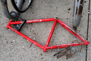 art or a truly stolen bike? 050820116831 by roland, on Flickr