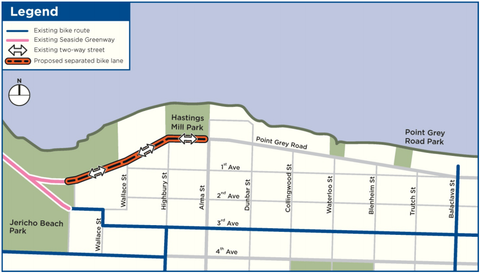 Point Grey-Cornwall Active Transportation Corridor Section 1