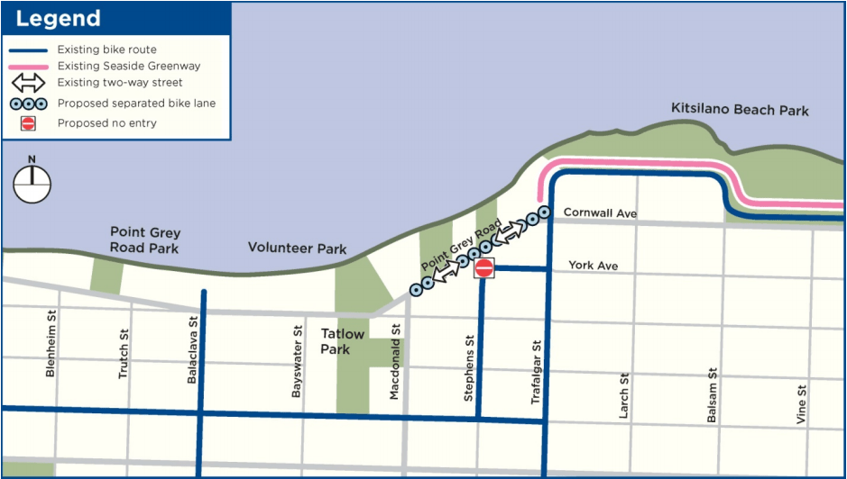 Point Grey-Cornwall Active Transportation Corridor Section 3