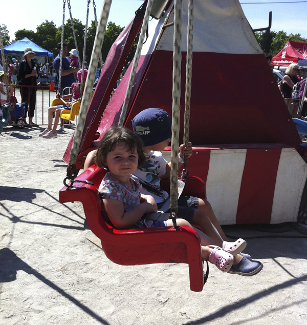 A $5 wristband gets you access to all the carnival rides at the Kitsilano Community Centre Picnic in the Park.