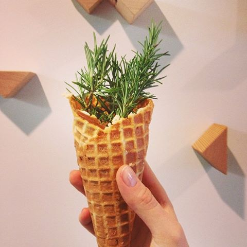NEW seasonal: salted chocolate rosemary. Image: Rain or Shine