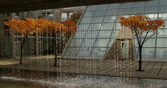Arthur Erickson's Waterfall Building in The Armoury District