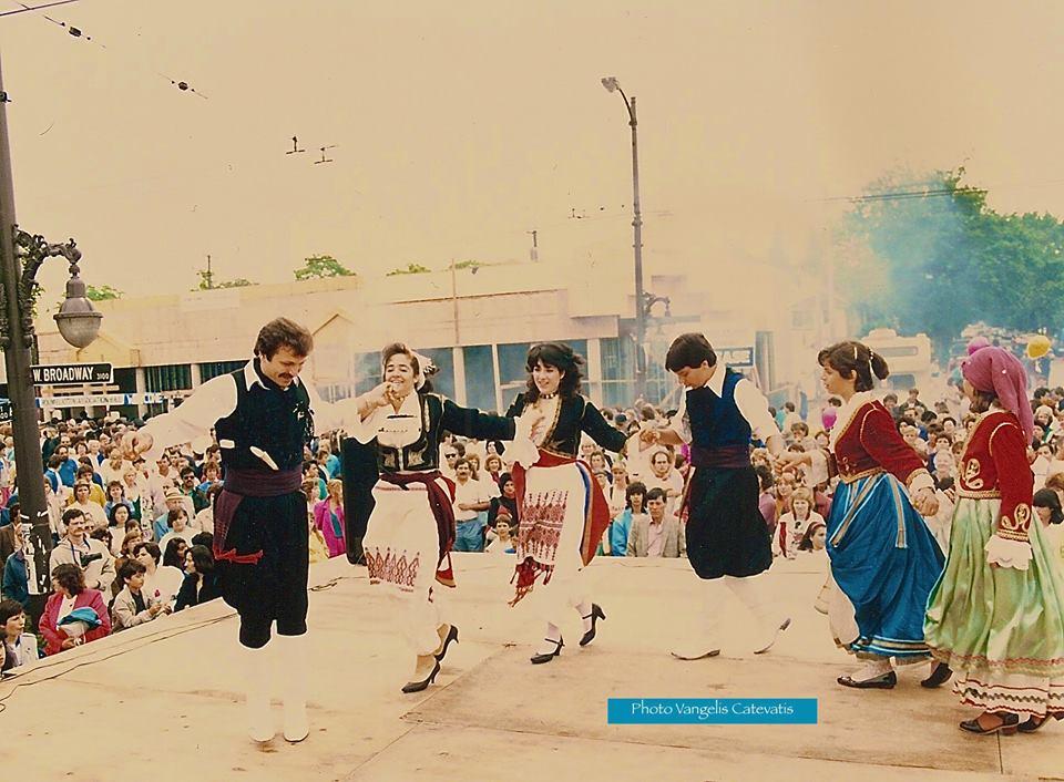 Greek Day in the 1980s. Image: Vangelis Catevatis