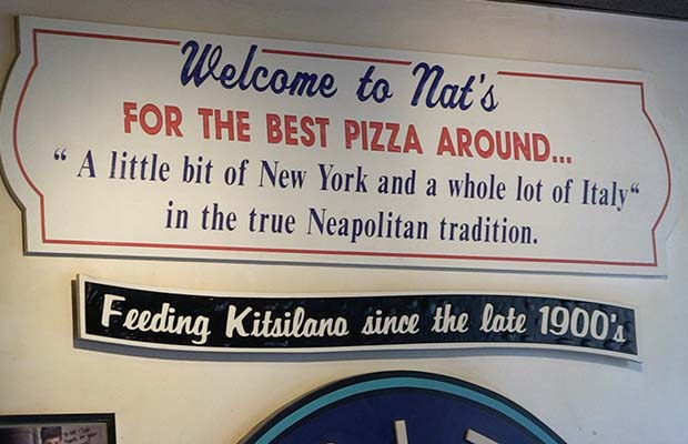 Nat's Pizza Kitsilano