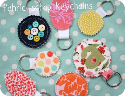 Scrap Keychain Ring Tutorial