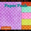 Grunge In Check Digital Scrapbook Paper Pack CU Freebie
