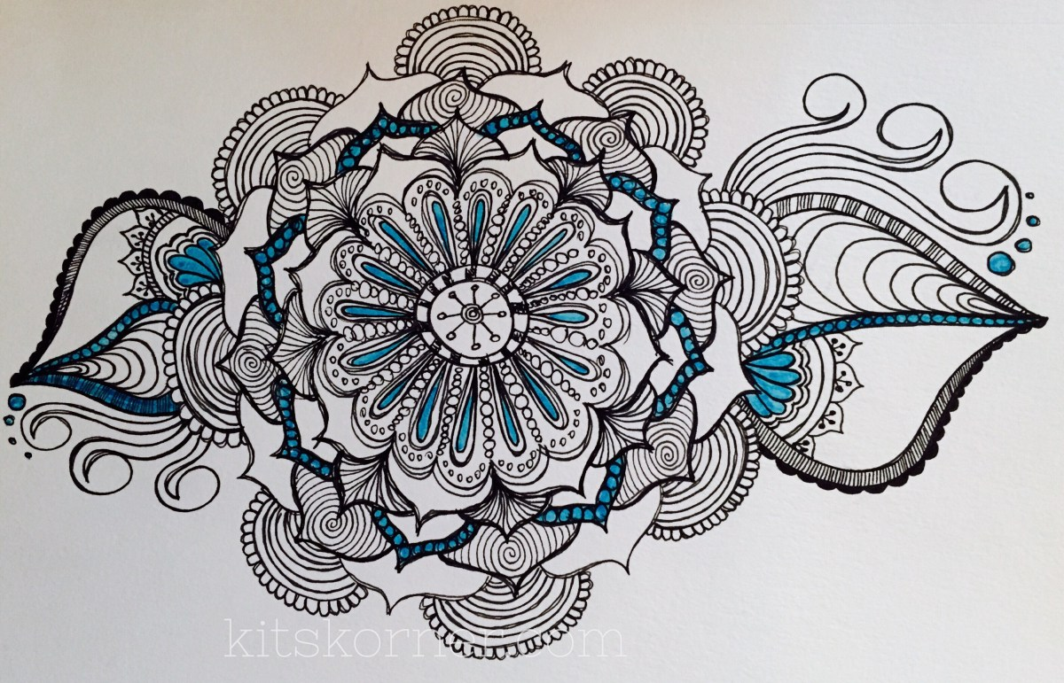 Sketchbook : Mandalas (9 Pages)