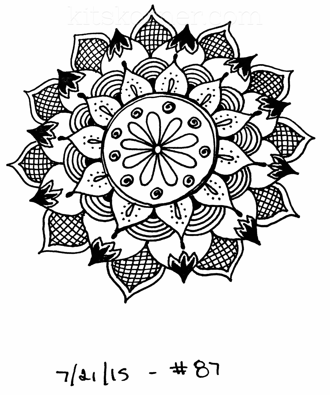 sketchbook   100 mandalas challenge week 14  u2022 kitskorner