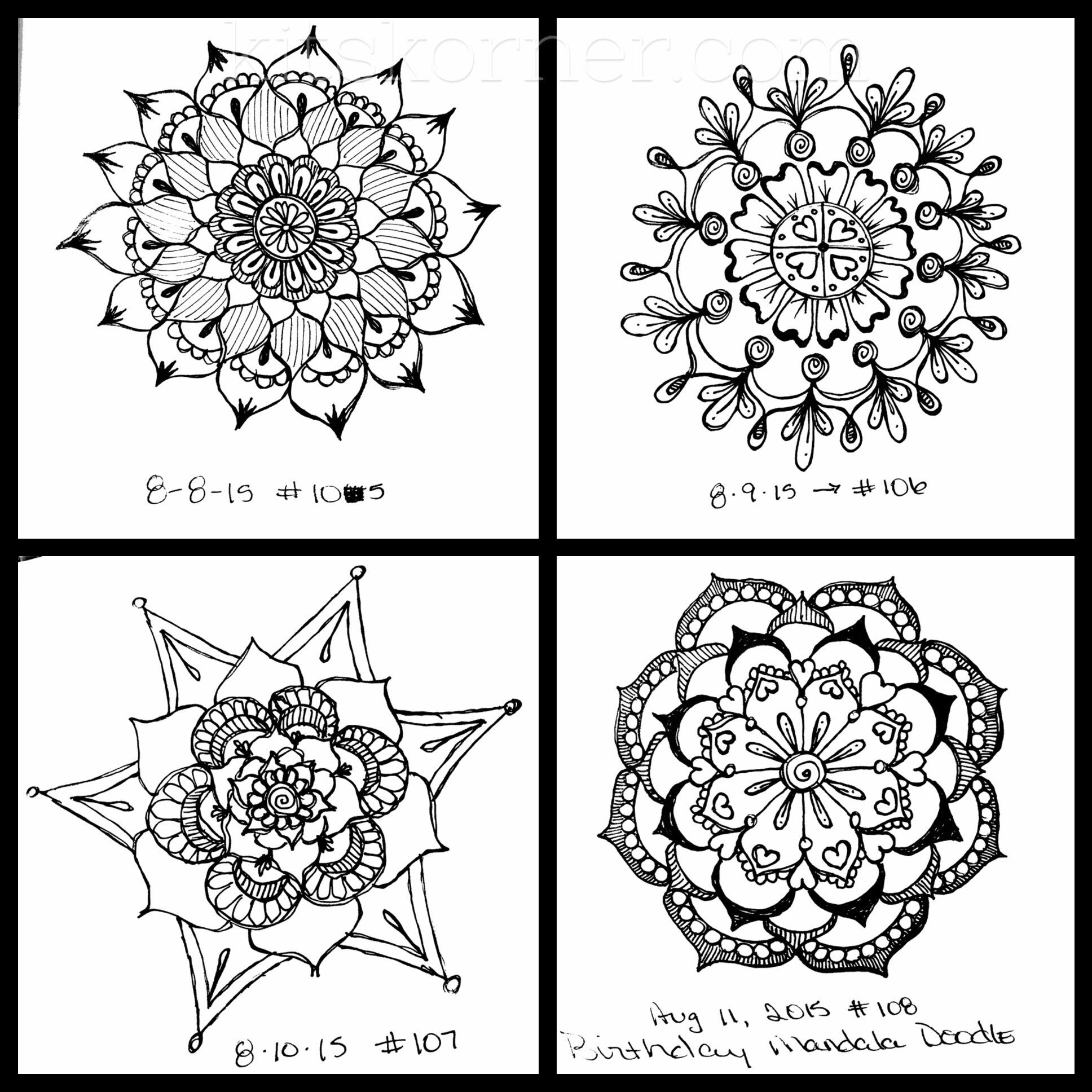 4 Mandalas