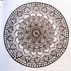 June 11-17 – Mandala BuJo Closeup…