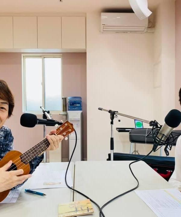 堀江淳のミュージックアワー収録時ショット