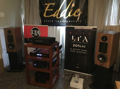 Wolf Audio, LTA and Audience had their gear with our DAC