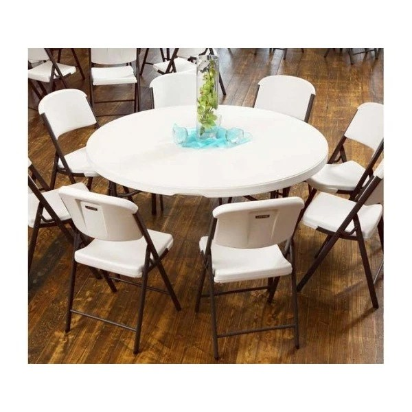 lifetime chairs and tables kenny chesney blue chair rum hat 4 round 32 set white commercial grade 80458