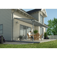 Palram 10x20 Feria Patio Cover Kit - Gray (HG9420)