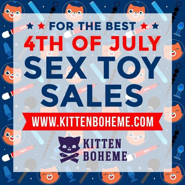 4th of July sex toy sales are in full swing!hellip