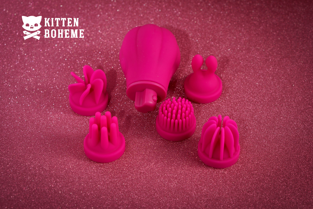 Adrien Lastic Caress External Vibrator Sex Toy Review by KittenBoheme.com