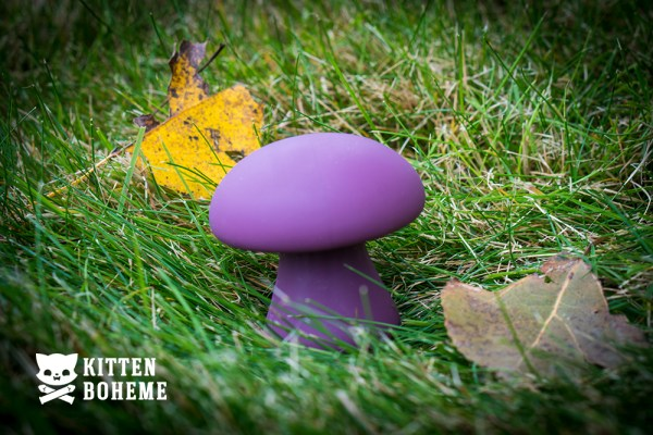 Cloud 9 Mushroom Massager Silicone Vibrator Sex Toy Review by KittenBoheme.com