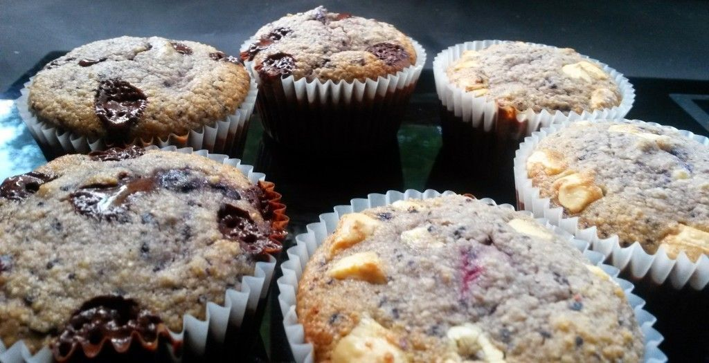 chocolate and blueberry muffin primal