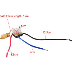 details about 3wire ceiling fan wall light replacement pull chain cord switch control 220 250v [ 1110 x 1110 Pixel ]
