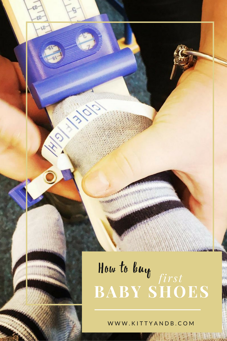Buying Baby's First Shoes