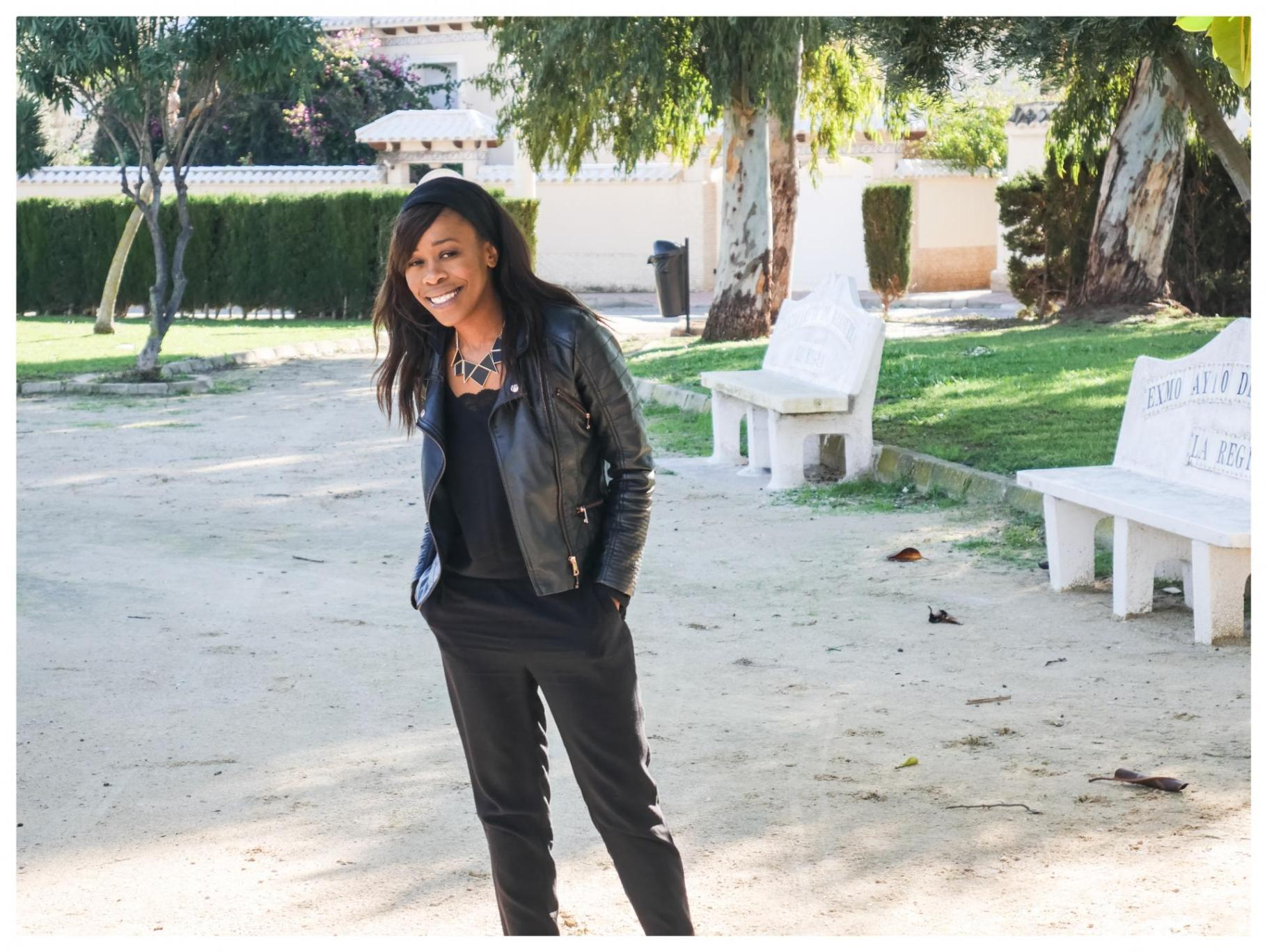 Transition Wear: The Faux Leather Jacket