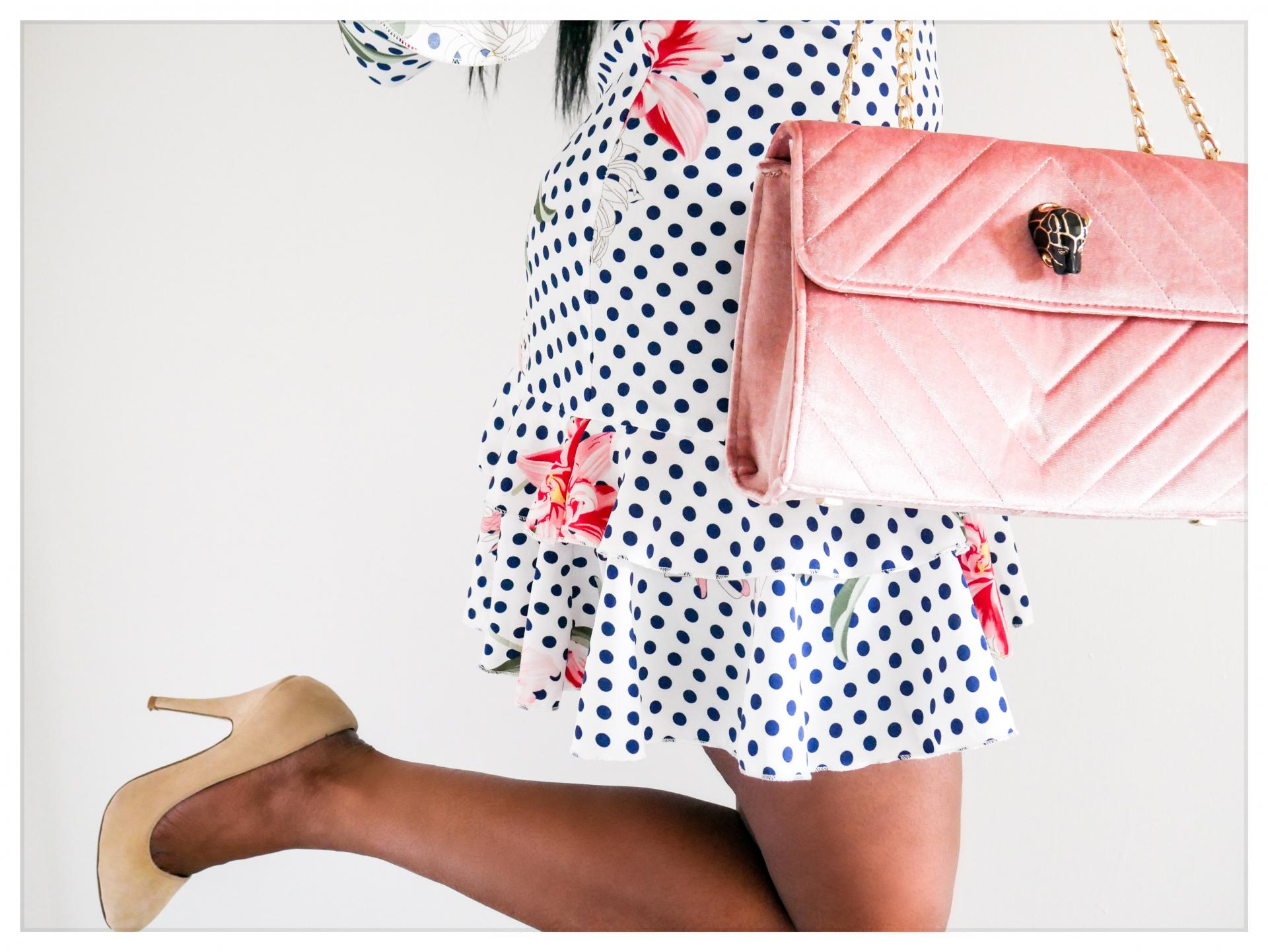 How to wear polka dots| Polka dots are a really versatile, wearable fabric trend to wear| Here we have loads of inspiration for how to wear polka dots in a variety of styles | kittyandb.com #polkadots #fashioninspiration #outfitideas