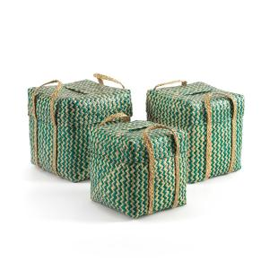 Green Storage Baskets