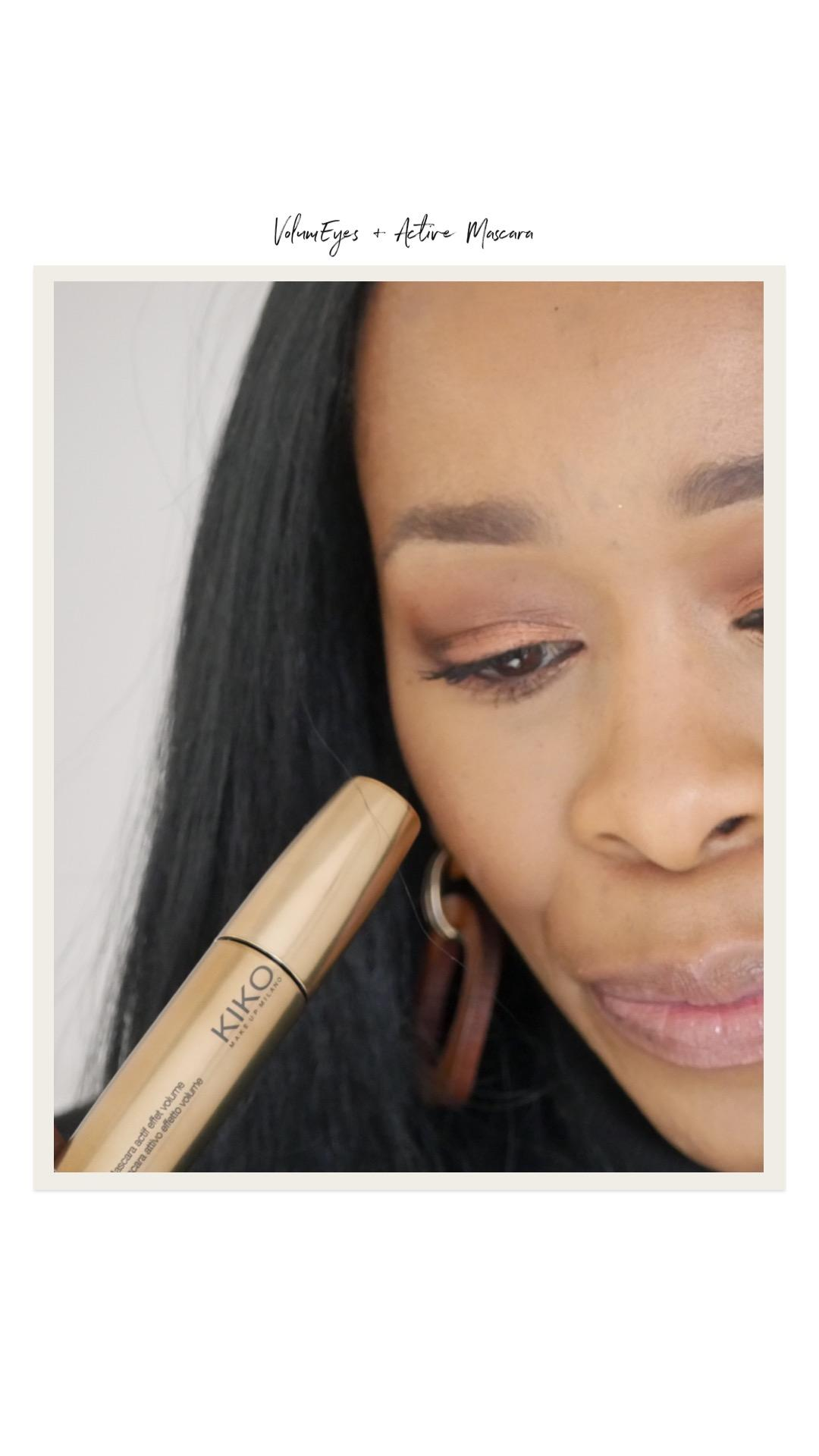What I bought from KIKO Milano Online| My thoughts on everything I bought - all under £10 including this VolumEyes+Mascara |If you're looking for cruelty free, affordable makeup and beauty, then you'll definitely be interested| www.kittyandb.com #KIKOTrendsetters #mascara #beautyreviews #crueltyfree #beautyblog #crueltyfreemascara