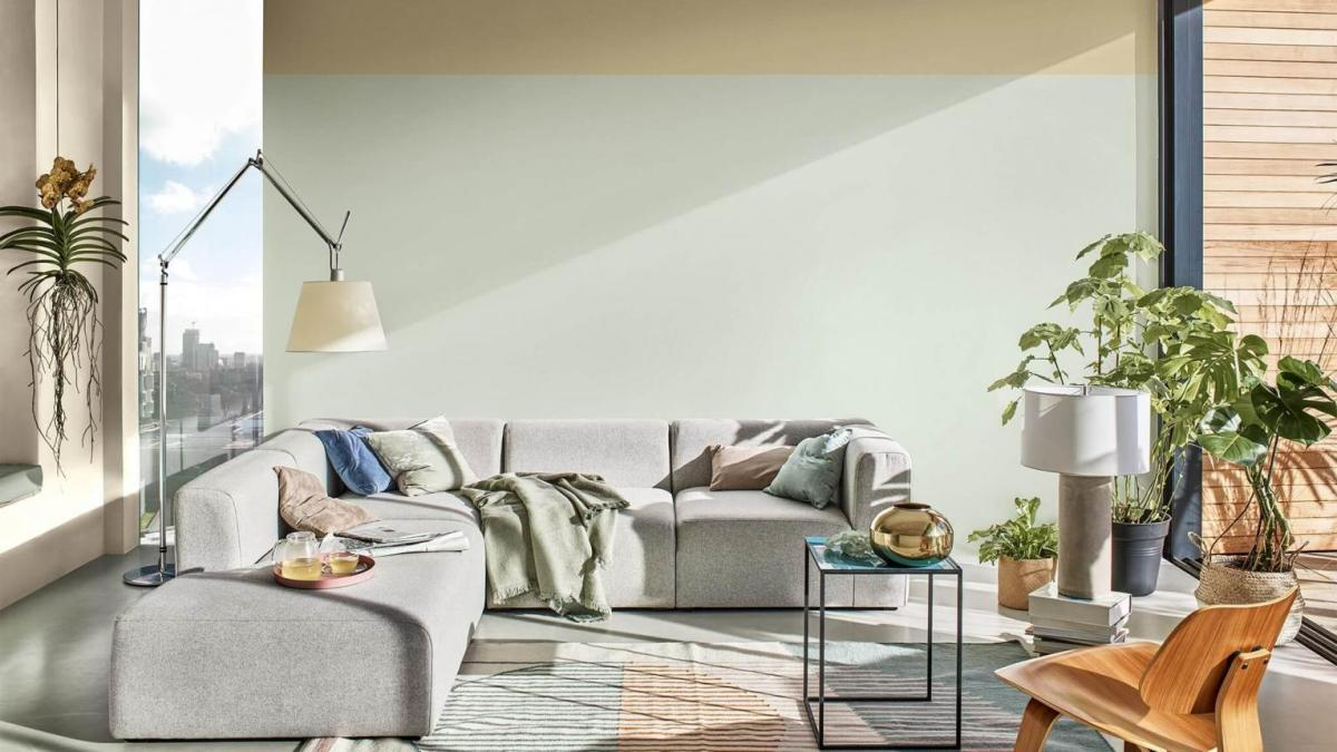 Green Living Room Ideas 2020 will see green home decor thrive. With Dulux and Graham and Brown both choosing greens as their colours of the year - from Tranquil Dawn to Adeline, here is your inspiration for green living rooms.