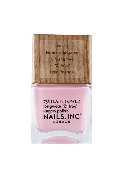 Pink Cruelty Free Vegan Nail Polish everydayselfcare. Perfect for creating lots of soft nail looks, like the pink French manicure because we love a classic French manicure, it's elegant and timeless. But, we also love classic with a twist. Here are all the alternative French manicure styles you need | www.kittyandb.com #PinkAesthetic #PinkNails #NailArt #Vegan #CrueltyFree