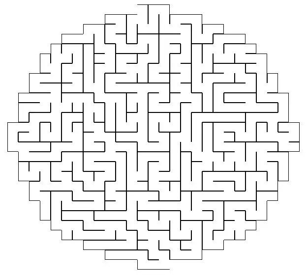 image relating to Printable Mazes Hard called Printable Xmas Mazes Demanding