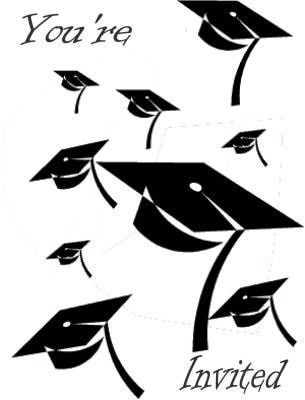 10 Fabulous Printable Graduation Invitations