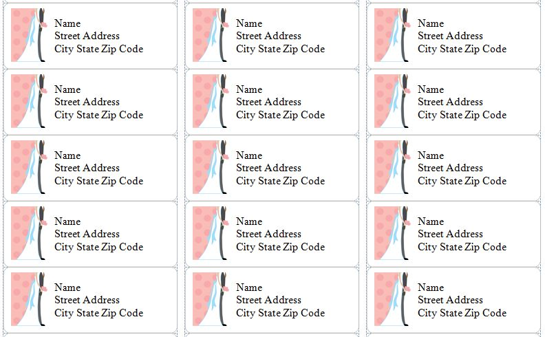 12 Awesome Printable Address Labels  KittyBabyLovecom