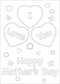24 Printable Mother's Day Cards   Kitty Baby Love