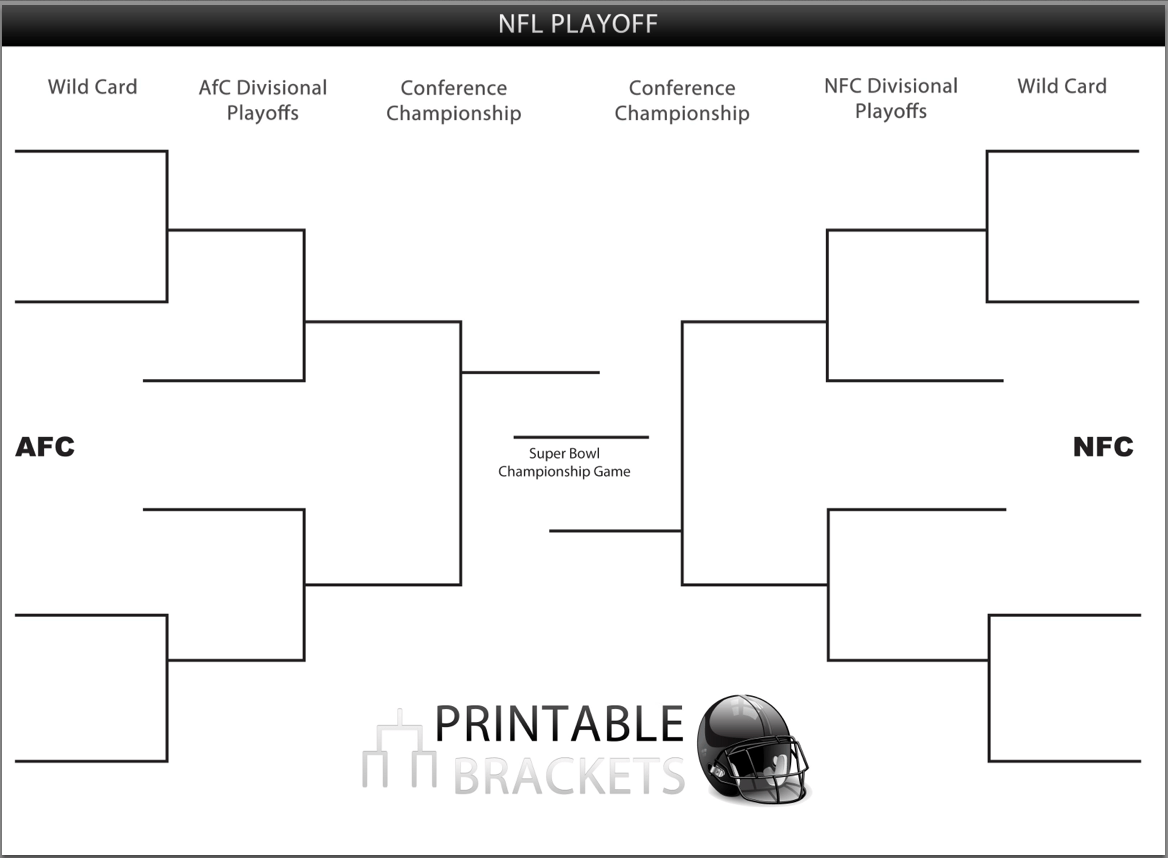 Printable Nfl Playoff Brackets